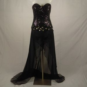 Claudine By Alyce Women's Formal Gown Sz 4